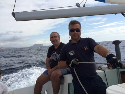 Advanced sailing course in Águilas on a weekend