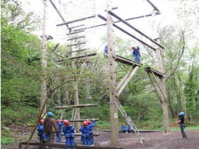 Min-y-Don Christian Adventure Centre High Ropes