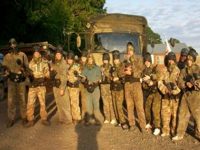 Monnow Events Paintball