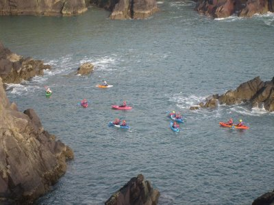 Newgale Outdoor Education Centre Kayaking