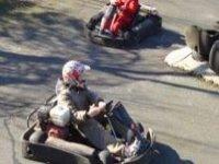 Karting is lots of fun.