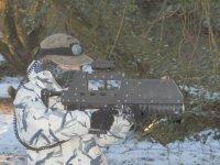 Snowing shooting