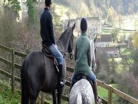 Stunning views from horseback