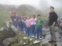 Class hike