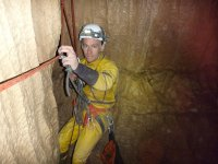 Caving is lots of fun.
