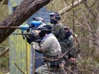 You are also able to play paintball with your friends.