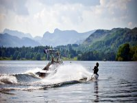 waterskiing day