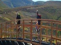 Biking through the Cairngorms