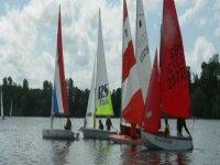 Dinghy sailing at Shropshire