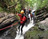Canyoning, a multi-activity sport