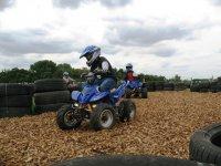 Kids quad biking track