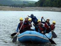 Rafting on the River Torridge
