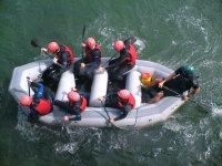 Rafting in North Devon