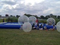 Land and Water Zorbing!