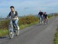 Biking is lots of fun.