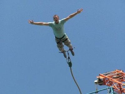 Take the plunge with bungee jumping
