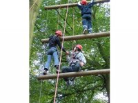 Highropes are lots of fun.