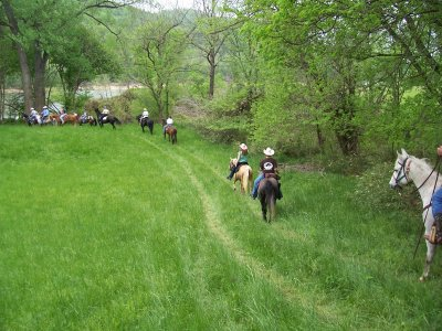 Horseback route in La Portera 1 hour