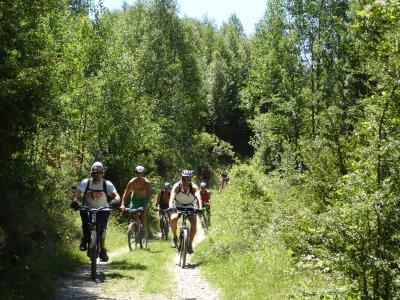1 day bike rental at Barasona
