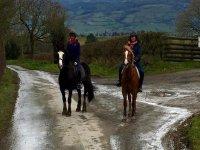 Teaching Ozzie some manners Pony Trekking
