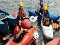 Kayaking for fun