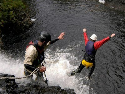 Vertical Descents  Canyoning
