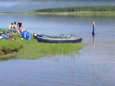 Snowgoose Mountain Centre Canoeing