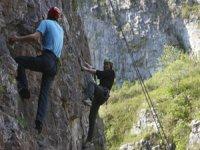 Climbing duo