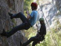 Climbing the Cheddar Gorge