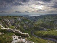 The breathtaking gorge of Cheddar