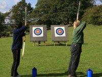 Target archery with longbows