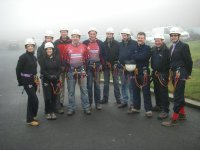 Charity abseil day