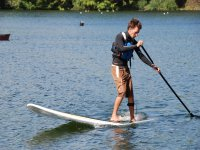 Stand up paddle boarding is a great activity.
