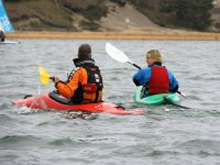 Couple of kayakers