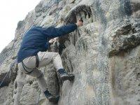 Effort in the rocks