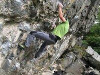 Enjoy rock climbing.