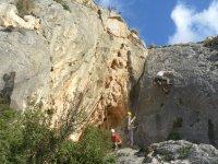 Climbing in Spain