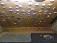 Indoor climbing as well.