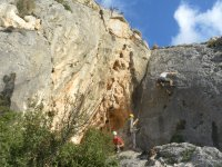 Climbing taster in Spain