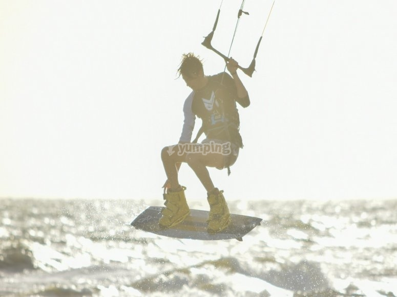 kitesurfing for beginners
