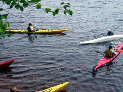 The Cardiff Outdoor Activities Team Kayaking