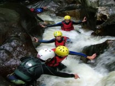 The Cardiff Outdoor Activities Team Canyoning