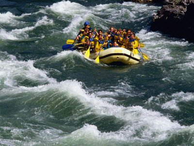 The Cardiff Outdoor Activities Team Rafting