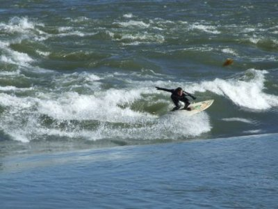 The Cardiff Outdoor Activities Team Surfing