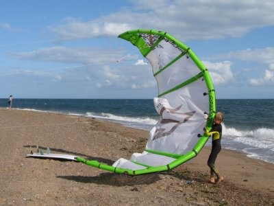 Destination Cumbria Kitesurfing