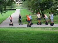 Segwaying on the park