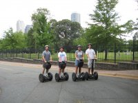Segwaying with friends