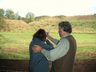 Air Rifle Shooting in Hertfordshire 20 shots