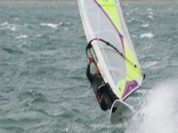 Exhilarating windsurfing