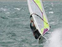 Exhilarating windsurfing